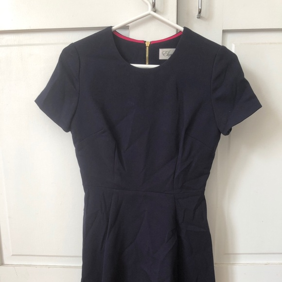 Eliza J Dresses & Skirts - Blue tailored work dress (NEVER WORN)